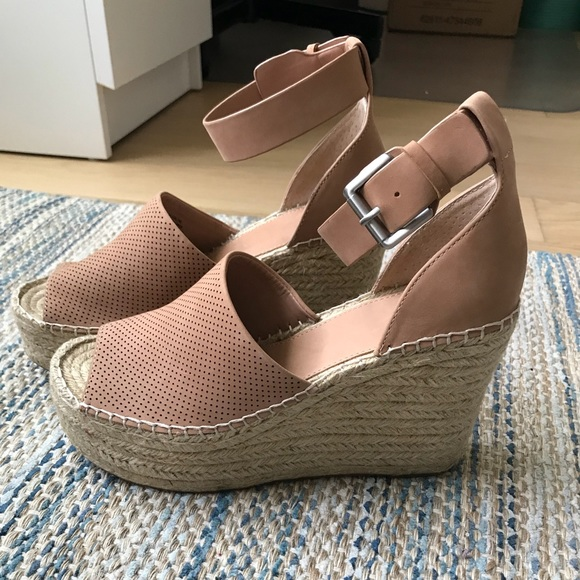 17cc823b617 Marc Fisher LTD Adalyn Espadrilles Wedges NWT